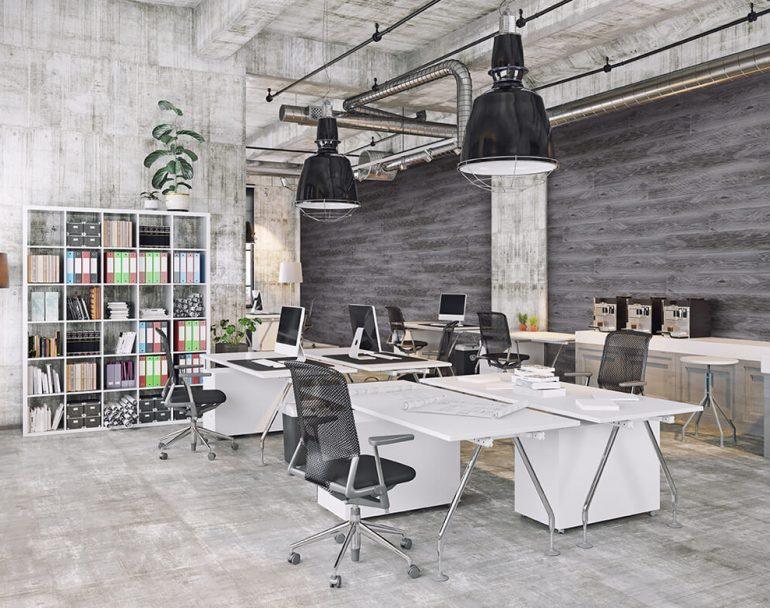 tera - חיפוי קיר במשרד. עצוב open space